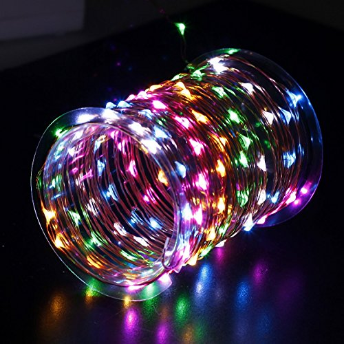 Plug In String Lights Indoor : Innotree LED Fairy Lights, Waterproof String Lights USB Plug In for Be